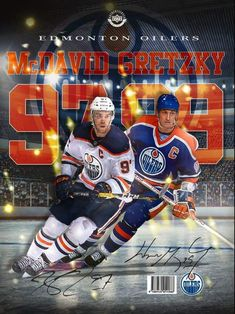 Discover recipes, home ideas, style inspiration and other ideas to try. Hockey Pictures, Connor Mcdavid, Wayne Gretzky, Edmonton Oilers, Field Hockey, National Hockey League, Montreal Canadiens, Hockey Players, Ice Hockey