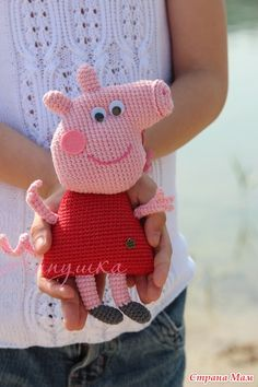 PEPPA PIG Amigurumi Pattern, Peppa Pig Patrón Amigurumi | Patrones ... | 354x236
