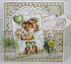 Het kaartenhoekje van Gretha: Whimsy Wee 'Amy'