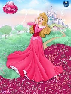OriginalDisneyPrincess-+Aurora+In+Pink+ByGF+by+GFantasy92.deviantart.com+on+@deviantART