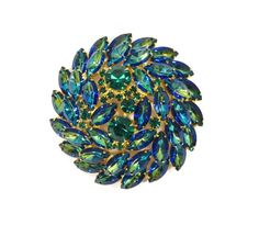 Delizza & Elster a/k/a Juliana Peacock Brooch