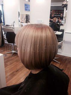 #shorthair #bobline #bob #bobhaircut #blonde #ash #haircut #hairstylist #madebyme