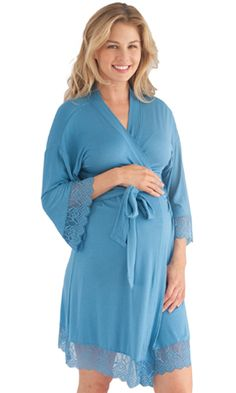 6795adafa6f36 Comes with matching nursing and maternity chemise. Nursing Robe, Maternity  Nursing, Maternity Style