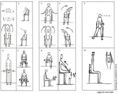 Chair Yoga Hip Exercises