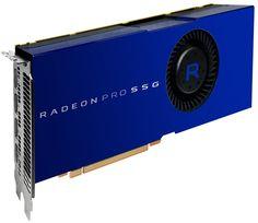 Un SSD sur une AMD Radeon Pro SSG