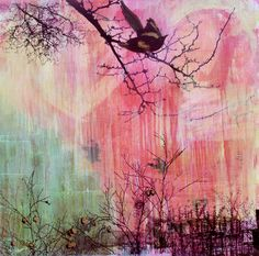 """""""Magpie & Waterfall"""" 2006"""