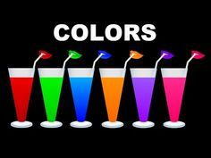 Colors for Children Learn With Colors juice | Colors Learning Videos for Kids - YouTube