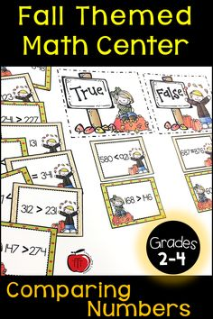 Comparing numbers place value math center. Your grade, grade, or . Place Value Activities, 2nd Grade Activities, Teaching Activities, Teaching Resources, Teaching Ideas, Second Grade Math, Third Grade, School Fun, Back To School