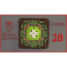 Number 28 of our 365 Days of Granny Squares is on the blog!!