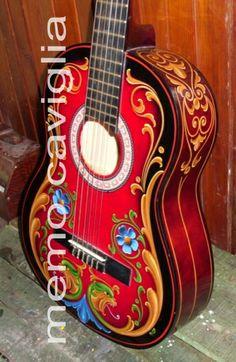 Guitarra Fileteada
