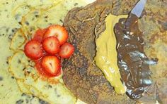 Gluten Free Oat (or Sorghum) Crepes with Chocolate or Chocolate Chips for Easter Brunch http://glutenfreerecipebox.com/carob-chocolate-chip-gluten-free-oat-crepes/ #glutenfree