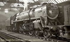 70017 Arrow at Blackpool North shed on 14 October 1961.