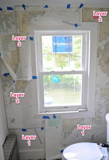 SoPo Cottage: Creative Wallpaper - How to Hang Nautical Charts