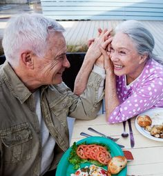 I want to be this in love when I'm this old! <3