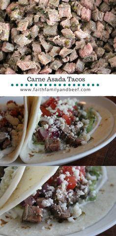 Carne Asada Tacos -
