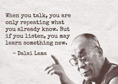 Wisdom by Dalai Lama. Best Inspirational Quotes, Inspiring Quotes About Life, Great Quotes, Motivational Quotes, Famous Quotes About Life, Dalai Lama, Wisdom Quotes, Quotes To Live By, Find Quotes