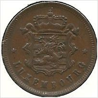 Luxembourg 1930 Twenty Five Centimes coin AU