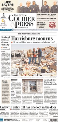 Be Sure To Pick Up A Copy Of The Evansville Courier U0026 Press On Your Way  Home Today... Inside You Will Find Your FREE Copy Of The WEVV Emergency Preu2026