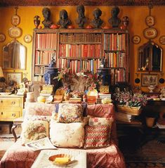 home of the late Stephen Long, antique dealer at Fulham Road, Chelsea | The World of Interiors, June 2012 · John Vere Brown ""