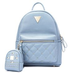 849196398c New Semir Cute Small Backpack Mini Purse Casual Waterproof Daypacks Leather  Teen Girls Women (Blue) online - Allproclothing