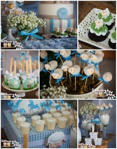 Little Lamb First Birthday Party with Lots of CUTE Ideas via Kara's Party Ideas