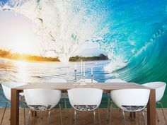 Here is the Crashing Ocean Wave Wall Mural that is popular at Eazywallz! It comes in plenty of sizes and if you can even request a custom size! Only at www.eazywallz.com!