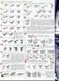 How to Read Russian Crochet Symbols with Some Translation of Terms if you Scroll Down  - crochet knit unlimited: Duplet magazine crochet symbols translation