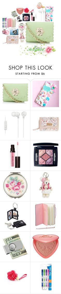 """Erris Roseguard(my character bag)"" by sasukeuchiha2498 ❤ liked on Polyvore featuring beauty, Mulberry, Samsung, Sony, New Look, Laura Mercier, Christian Dior, Cath Kidston, Prada and Coach"