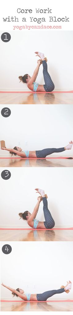 Pin now, practice core work with a yoga block later! Wearing: Kira Grace leggings,Reebok bra.Using: Cork yoga block