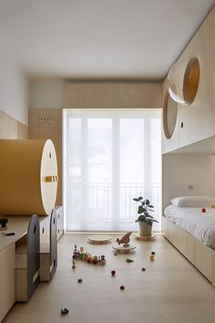 Photos and Videos 10 of 10 from project The Toy Box Small Apartment Interior, Room Interior, Interior Design, Cool Kids Rooms, Kids Room Paint, Home Bedroom, Kids Bedroom, Girl Room, Child Room