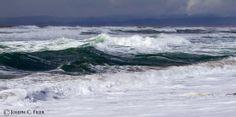 """THE ANGRY SURF""  Morro Bay, California"