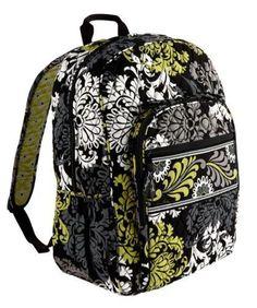 2ceed7b0f26c New Vera Bradley Campus Backpack in Baroque print  VeraBradley   BackpackStyle Rucksack Bag