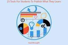 23 Tools For Students To Publish What They Learn