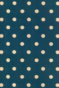 CocoPPa blue,white polka dots (wallpaper)