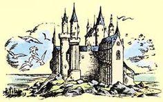Cair Paravel (Pauline Baynes Ilustration)