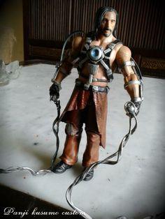 ivan vanko as whiplash (Marvel) Custom Action Figure Whiplash Marvel, Iron Man 2 2010, Marvel Series, Custom Action Figures