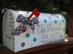 Custom Wedding Card Box Mailbox