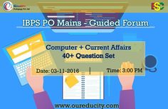 Today's session is scheduled for Computer + Current Affairs at 3:00 PM. Login at www.oureducity.com #educity #guidedforum
