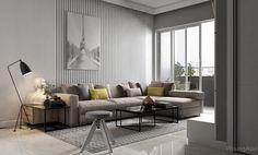 60m2 apartment - 1 bedroom on Behance