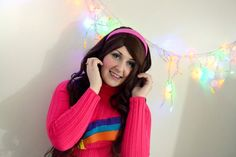Another lovely shot of Meg, from our Gravity Falls photoshoot! Mabel Pines - Meg