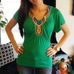 Short sleeve shirt with cute design Short sleeve shirt with cute design Tops