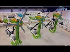 Wind Mill - lego wedo 2.0 education projects - YouTube