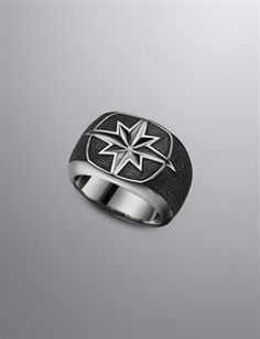 David Yurman Men's Rings | Black Diamond and Onyx Rings for Men