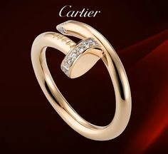 Cartier Juste Un Clou Ring Diamonds  $ 45.99