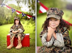 Danielle Caceres Photography - Home - Military Kid's Session