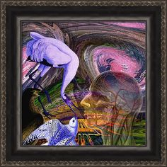 Climate Change Framed Print featuring the digital art Solar Whisper Winds I'm Changing by Joseph Mosley