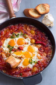 Tomato & Egg Breakfast Skillet