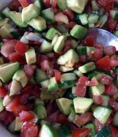 Mexicaanse Avocado salade. #imadethis