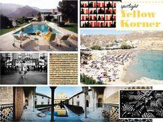 Mykonos Beach: Richard Silver; Les Palais de Comares, Espange: Leonard de Selva