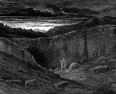 """Abandon all hope ye who enter here"" Dante's Inferno"